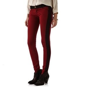 Current/Elliott rider legging jeans crimson 25